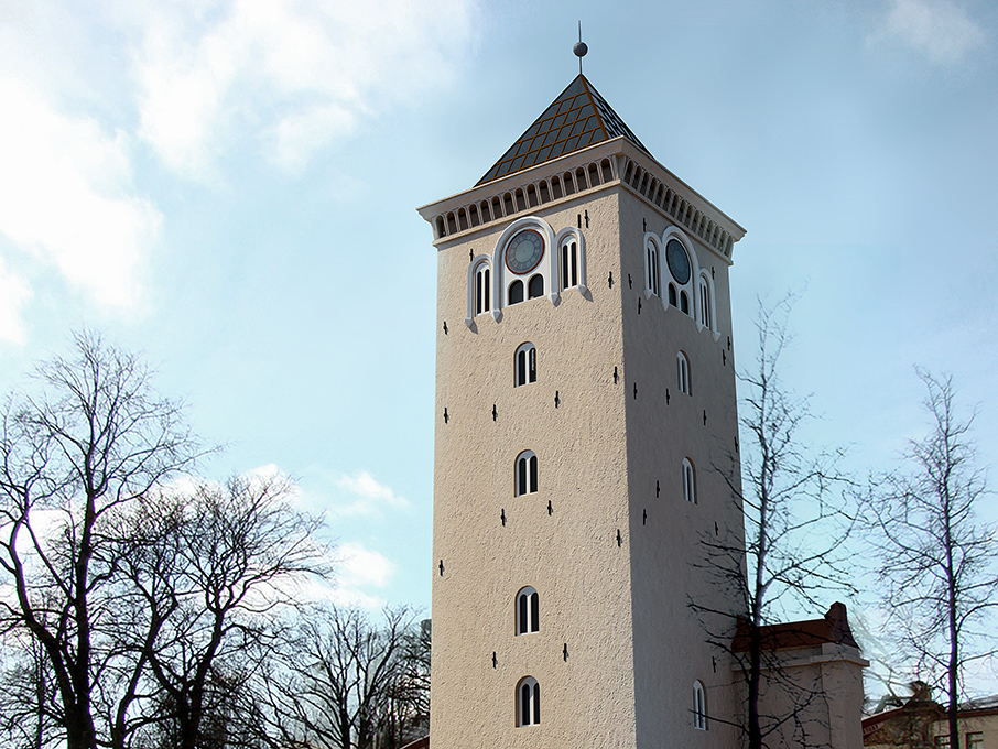 Tower of the Holy Trinity Church Visualizations