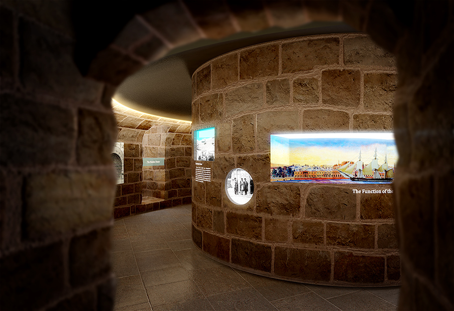 3D Visualizations for Maiden Tower In Baku