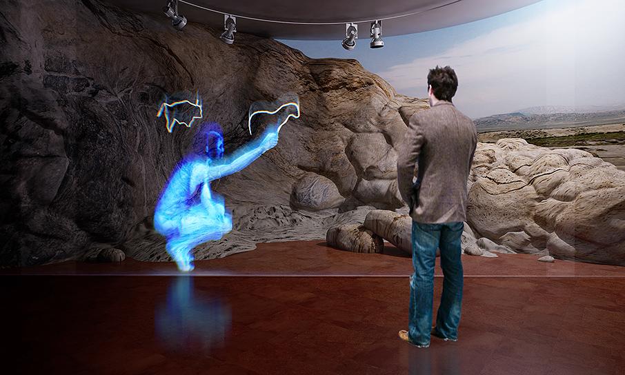 Petroglyph Museum in Gobustan Digital Illustrations