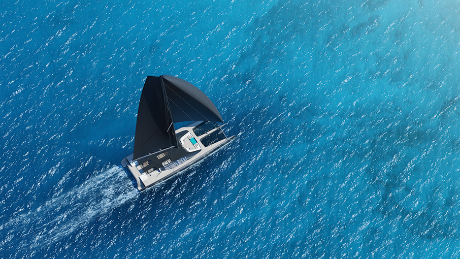 3D Animation for Blackcat Superyachts