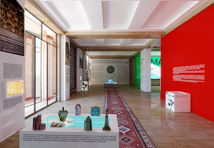 National Museum of Azerbaijan Visualizations
