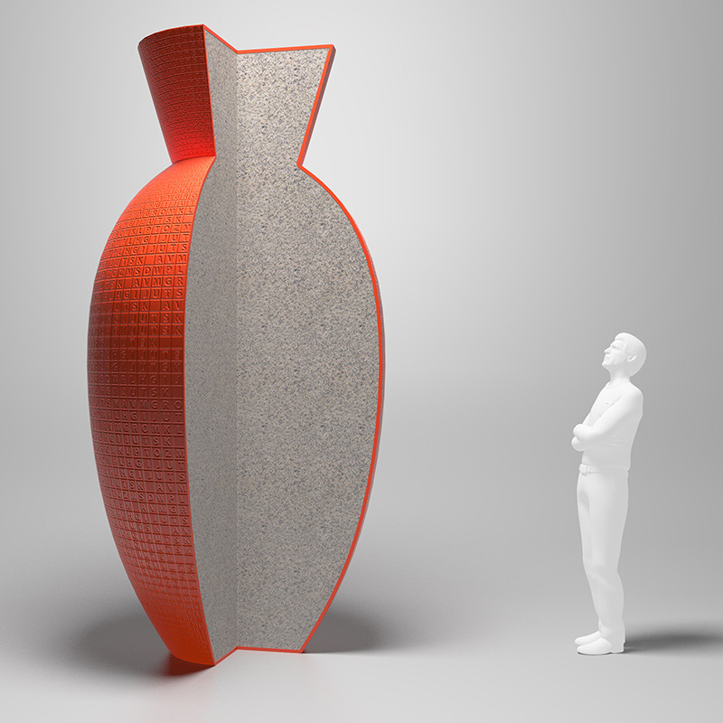 Digital visualizations for contemporary urban environment sculpture competition in Riga, Latvia.
